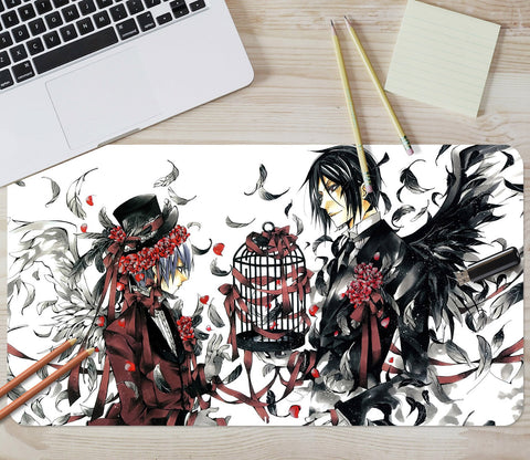 3D Black Deacon Anime 057 Desk Mat Mat AJ Creativity Home