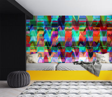 3D Color Waves 71085 Shandra Smith Wall Mural Wall Murals