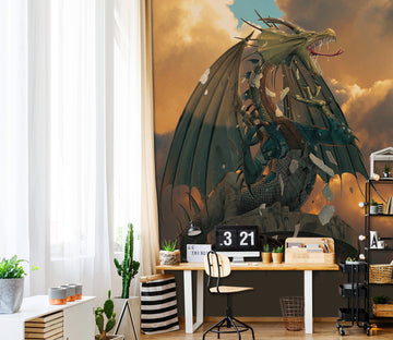 3D The Awakening 1556 Wall Murals Exclusive Designer Vincent