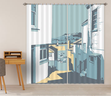 3D Street 157 Steve Read Curtain Curtains Drapes