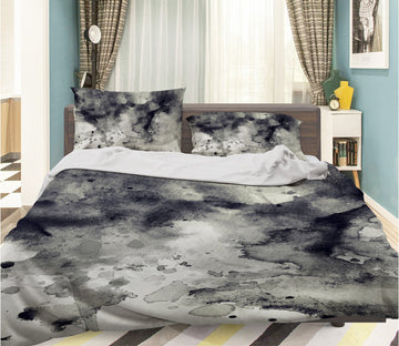 3D Abstract Ink Painting 003 Bed Pillowcases Quilt Wallpaper AJ Wallpaper
