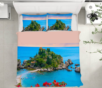 3D Taormina Sicily 148 Marco Carmassi Bedding Bed Pillowcases Quilt