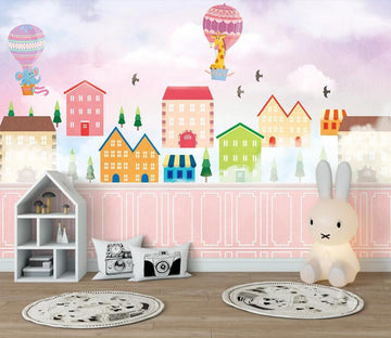 3D Colorful Dream Houses 2593 Wall Murals