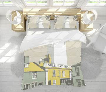 3D Sole Bay Inn 2056 Steve Read Bedding Bed Pillowcases Quilt