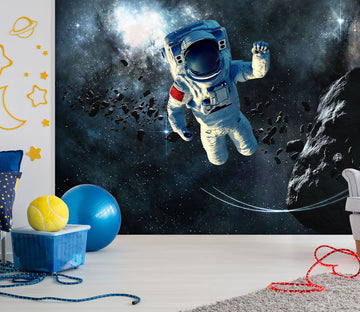 3D Space Astronaut 413 Vehicle Wall Murals