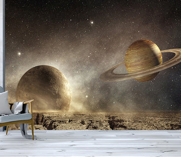 3D Star Planet WC542 Wall Murals