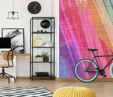 3D Abstract Rainbow 71093 Shandra Smith Wall Mural Wall Murals