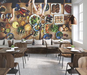 3D Tasting Food 339 Wall Murals