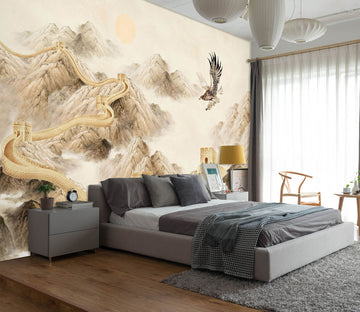 3D Abstract Alpine 1468 Wall Murals