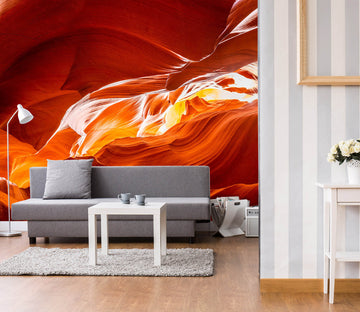 3D Red Magma 1443 Marco Carmassi Wall Mural Wall Murals