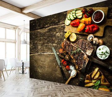3D Delicious Ingredients 331 Wall Murals