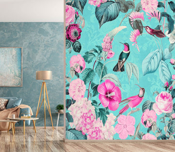 3D Bird Home 1443 Andrea haase Wall Mural Wall Murals Wallpaper AJ Wallpaper