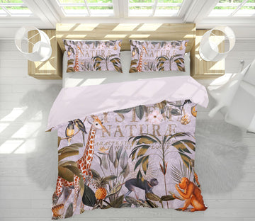 3D Animal Home 2138 Andrea haase Bedding Bed Pillowcases Quilt Quiet Covers AJ Creativity Home