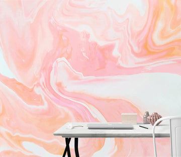 3D Pink Abstract 81 Wall Murals