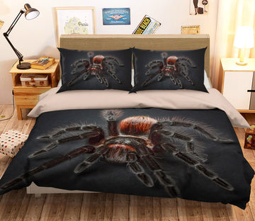3D Poison Spider 1943 Bed Pillowcases Quilt