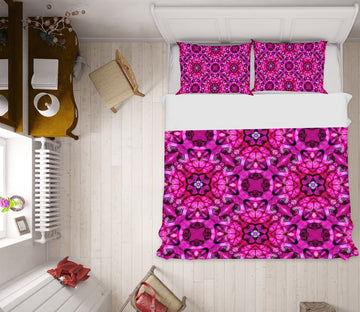 3D Purple Pattern 2007 Shandra Smith Bedding Bed Pillowcases Quilt