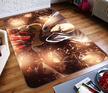 3D One Punch Man 7884 Anime Non Slip Rug Mat