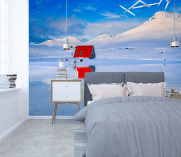 3D Snow House 1424 Marco Carmassi Wall Mural Wall Murals