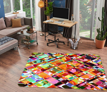 3D Bright Colors 1004 Shandra Smith Rug Non Slip Rug Mat