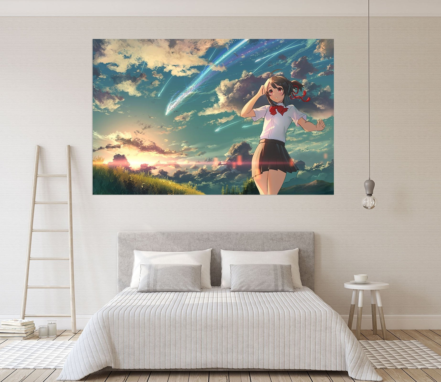 3D Your Name 485 Anime Wall Stickers Wallpaper AJ Wallpaper 2
