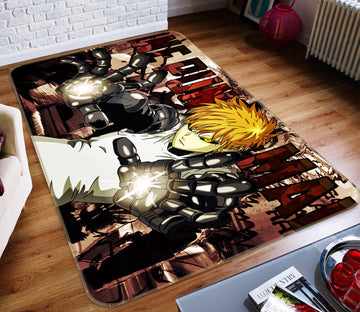 3D One Punch Man 7880 Anime Non Slip Rug Mat