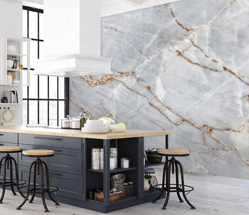 3D Cracked Marble 38 Wall Murals