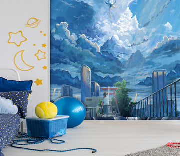 3D Weathering With You 13 Anime Wall Murals