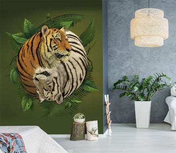 3D Tiger 1558 Wall Murals Exclusive Designer Vincent