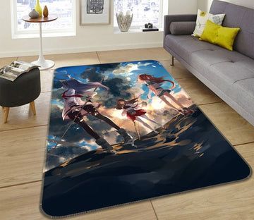 3D Fleet Collection 84 Non Slip Rug Mat Mat AJ Creativity Home