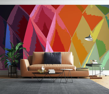3D Color Pineapple 71078 Shandra Smith Wall Mural Wall Murals