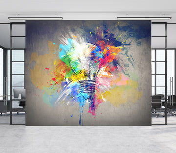 3D Graffiti Design Light 024 Wall Murals