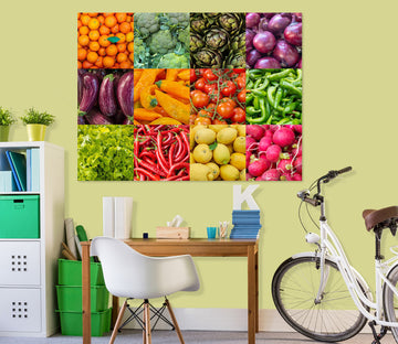 3D Fresh Fruits And Vegetables 033 Assaf Frank Wall Sticker
