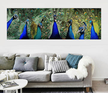 3D Peacock 101 Animal Wall Stickers