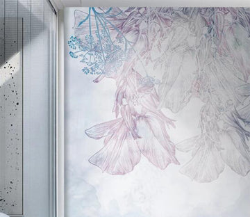 3D The Flimsy Flowers Of Memory 2605 Wall Murals