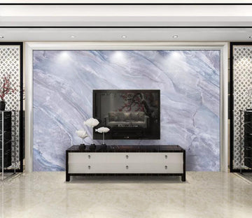 3D Grey Marble Pattern WC02 Wall Murals