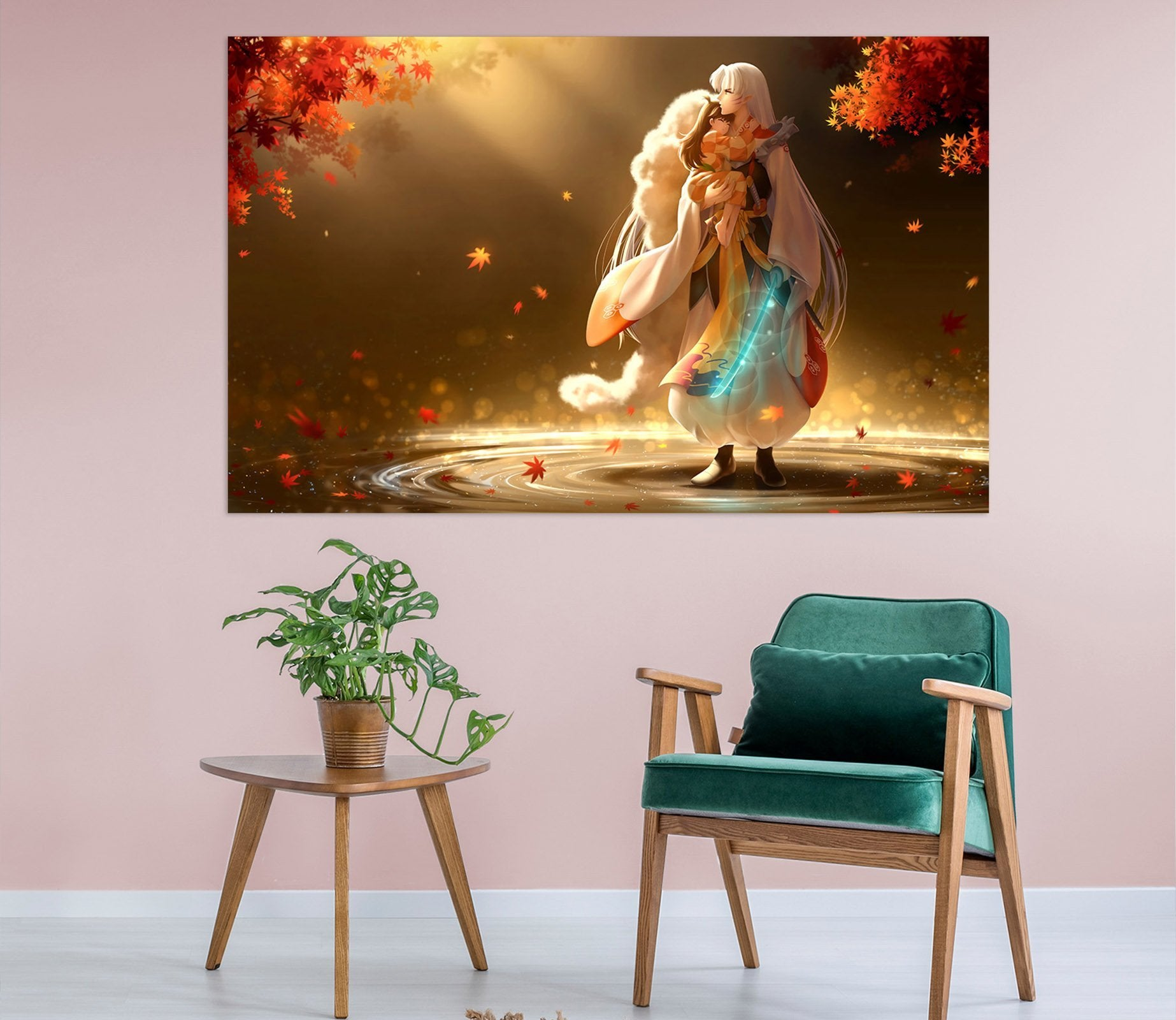 3D Inuyasha 382 Anime Wall Stickers Wallpaper AJ Wallpaper 2