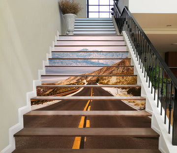 3D Open Mountain Road 629 Stair Risers