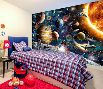 3D Space Odyssey 1404 Adrian Chesterman Wall Mural Wall Murals