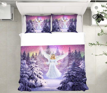 3D Snow Angel 2132 Jerry LoFaro bedding Bed Pillowcases Quilt