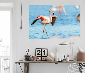 3D Flamingo 51 Animal Wall Stickers