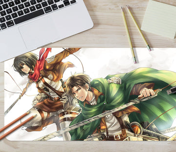 3D Attack On Titan 216 Anime Desk Mat Mat AJ Creativity Home