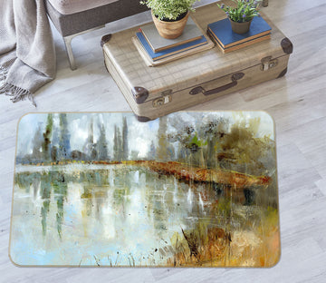 3D Country Road 1012 Anne Farrall Doyle Rug Non Slip Rug Mat