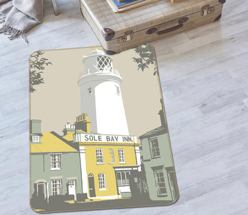 3D Sole Bay Inn 1144 Steve Read Rug Non Slip Rug Mat