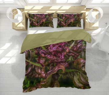 3D Purple Lettuce 1012 Jerry LoFaro bedding Bed Pillowcases Quilt