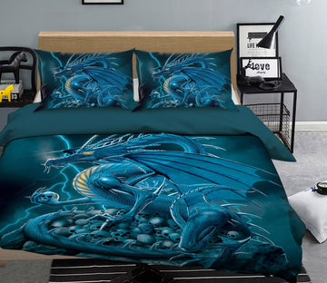 3D Abolisher 2105 Bed Pillowcases Quilt Exclusive Designer Vincent Quiet Covers AJ Creativity Home
