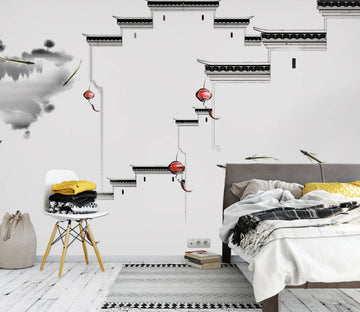 3D Abstract Art 1618 Wall Murals
