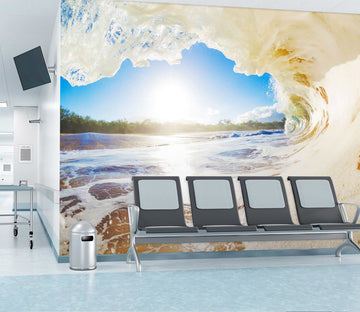 3D Ocean Wave 324 Wall Murals