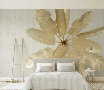 3D Dead Leaves WC187 Wall Murals