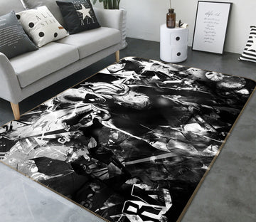 3D One Punch Man 7885 Anime Non Slip Rug Mat