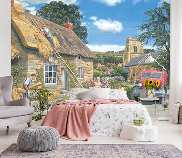 3D A New Thatch 1001 Trevor Mitchell Wall Mural Wall Murals Wallpaper AJ Wallpaper 2